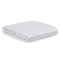 Простыня из сатина белого цвета из египетского хлопка из коллекции Essential, 240х270 см Tkano TK20-SH0004
