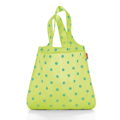 Сумка складная Reisenthel Mini maxi shopper lemon dots AT2025