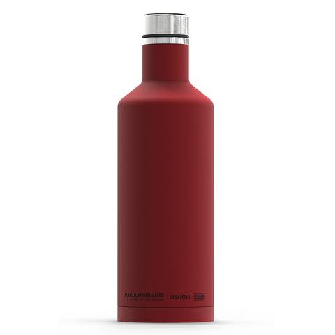 Термос-бутылка Asobu Times square (0,45 литра) красная