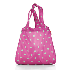 Сумка складная Reisenthel Mini maxi shopper magenta dots AT3059