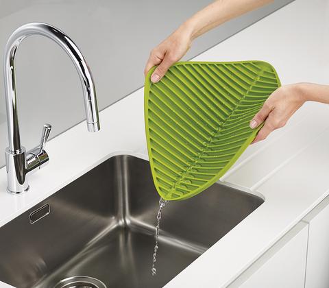 Коврик для сушки посуды Joseph Joseph Flume™ маленький серый (новый) 85087
