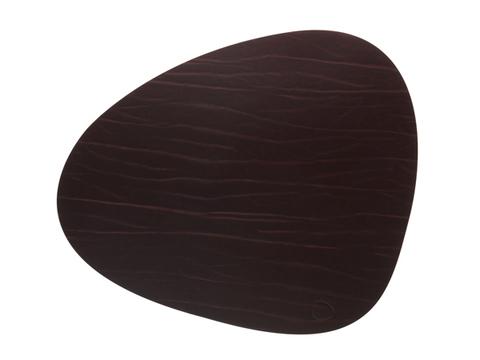 Подстановочная салфетка фигурная 37x44 см LindDNA Buffalo brown 98891