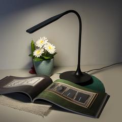 Светодиодная настольная лампа с сенсорным управлением Eurosvet Urban 80422/1 черный