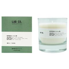 Свеча Ambientair ароматическая LAB CO, Розовый перец и ирис, 40 ч VV040AQLB