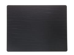 Подстановочная салфетка прямоугольная 35x45 см LindDNA Buffalo black 98893