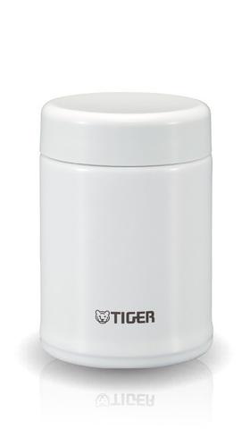Термос для еды Tiger MCA-025 (0,25 литра) белый