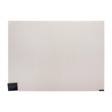 Салфетка подстановочная, винил, (36х48) Flax CHILEWICH Mixed Weave арт. 100396-002