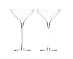 Бокал-креманка для шампанского Savoy 2 шт. прозрачный LSA G245-09-301
