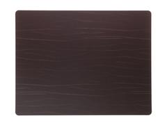 Подстановочная салфетка прямоугольная 35x45 см LindDNA Buffalo brown 98894