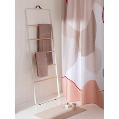 Штора для ванной бежевого цвета с авторским принтом из коллекции Freak Fruit, 180х200 см Tkano TK20-SC0004