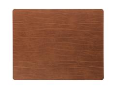 Подстановочная салфетка прямоугольная 35x45 см LindDNA Buffalo nature 98895