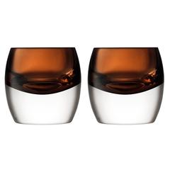 Набор из 2 тумблеров Whisky Club 230 мл коричневый LSA International G1532-08-866