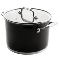 Кастрюля 20см (4,2 л) LACOR Cookware Black арт. 44120