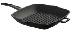 Литая чугунная сковорода-гриль LAVA BLACK 26х26см LVPGT2626K0