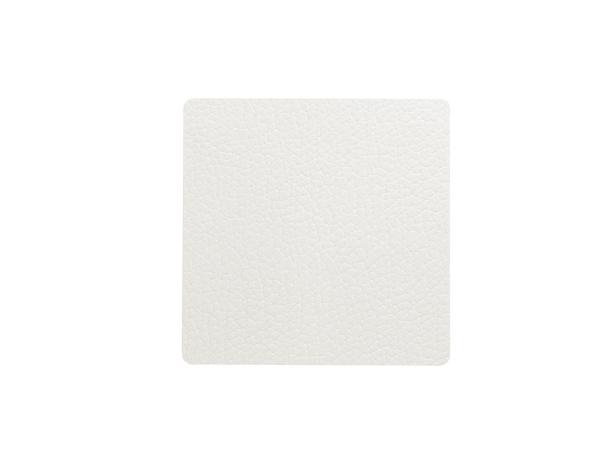 Подстаканник квадратный 10x10 см LindDNA Bull white 98355