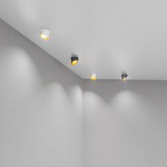 Встраиваемый точечный светильник 7005 MR16 WH/GD белый/золото Elektrostandard