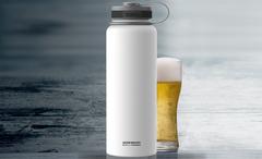 Термос Asobu Mighty flask (1,1 литра) белый TMF1 white
