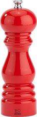 Мельница Peugeot Paris для соли 18 см, красный лак, дерево 31039