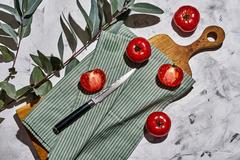 Нож кухонный для томатов 12см Samura Damascus SD-0071/Y