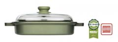 Литая пароварка-гриль со стеклянной крышкой Risoli Dr Green 26см 0091QDRIN/26