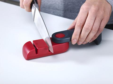 Ножеточка Joseph Joseph rota™ темно-серая/красная 10048