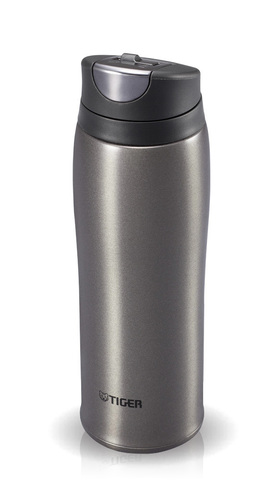 Термокружка Tiger MCB-H048 (0,48 литра) темно-серая