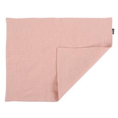 Салфетка под приборы из умягченного льна розово-пудрового цвета из коллекции Essential, 35х45 см Tkano TK19-PM0004