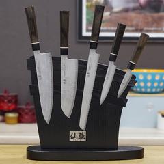 Комплект из 5 ножей Suncraft Senzo Black и подставки 207502989