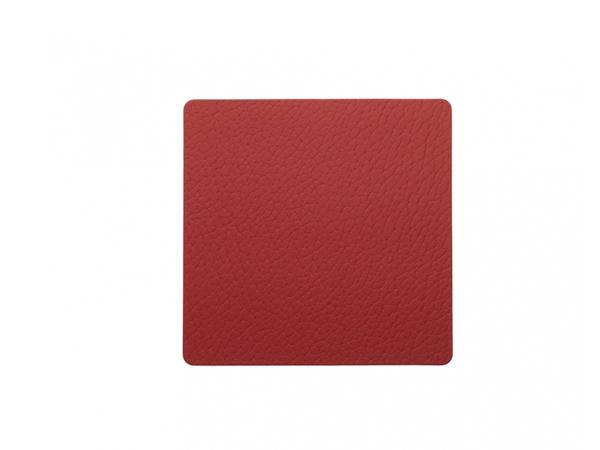 Подстаканник квадратный 10x10 см LindDNA Bull red 98359