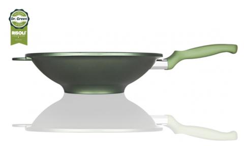 Литая сковорода Вок Risoli Dr Green 30см 00080DR/30GS