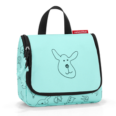 Органайзер детский Toiletbag S cats and dogs mint Reisenthel IO4062