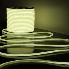 Светодиодный гибкий неон LS003 220V 9.6W 144Led 2835 IP67 круглый белый 6500К Elektrostandard