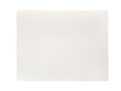 Подстановочная салфетка прямоугольная 35x45 см LindDNA Bull white 98403