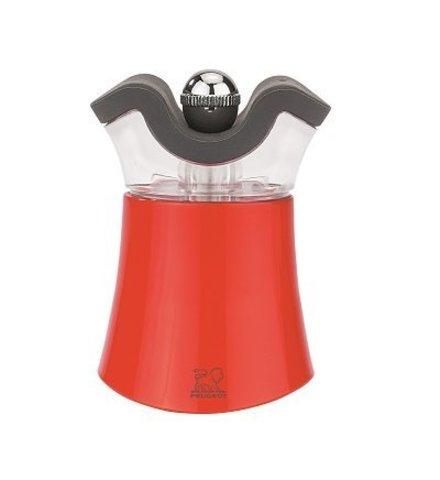 Мельница для перца и солонка Peugeot 2-в-1 Pep's, 8см, красный, акрил 30902