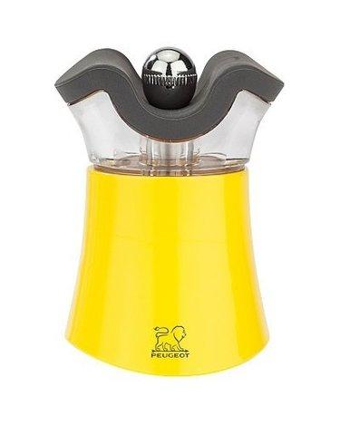 Мельница для перца и солонка Peugeot 2-в-1 Pep's, 8см, желтый, акрил 30896