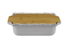 Форма с доской прямоугольная 33,5 см Appolia Cook&Stock GREY 131033504