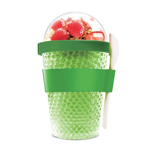 Контейнер Asobu Chill yo 2 go (0,38 литра) зеленый