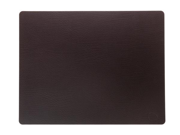 Подстановочная салфетка прямоугольная 35x45 см LindDNA Bull brown 98405