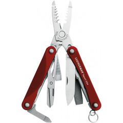 Мультитул Leatherman Squirt ES4, 13 функций, красный* 831236