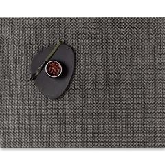 Салфетка подстановочная, жаккардовое плетение, винил, (36х48) Earth (100110-013) CHILEWICH Basketweave арт. 0025-BASK-EART