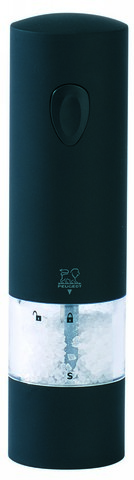 Мельница Peugeot Onyx для соли, электрическая, на бат., софт тач, 20 см 24598