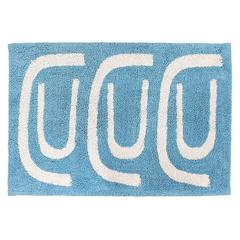 Коврик для ванной Go round голубого цвета Tkano TK18-BM0002
