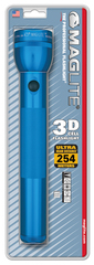 Фонарь MAGLITE, 3D, синий, 31,3 см, в блистере S3D116E