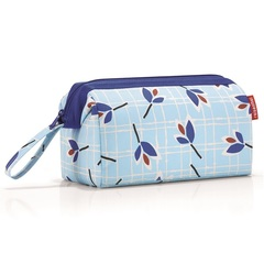 Косметичка Travelcosmetic leaves blue Reisenthel WC4064