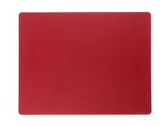 Подстановочная салфетка прямоугольная 35x45 см LindDNA Bull red 98407