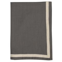 Набор из двух кухонных полотенец саржевого плетения серого цвета из коллекции Essential, 50х70 см Tkano TK20-TT0011