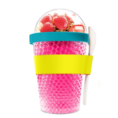 Контейнер Asobu Chill yo 2 go (0,38 литра) розовый