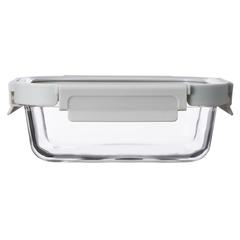 Контейнер для еды Smart Solutions стеклянный 640 мл светло-бежевый ID640RC_7534C