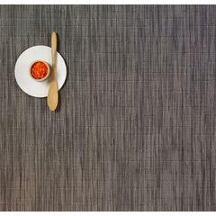 Салфетка подстановочная, жаккардовое плетение, винил, (36х48) Grey Flannel (100105-012) CHILEWICH Bamboo арт. 0025-BAMB-GRFL