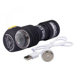 Мультифонарь светодиодный Armytek Tiara C1 Pro Magnet USB+18350, 980 лм, теплый свет, аккумулятор F05301SW
